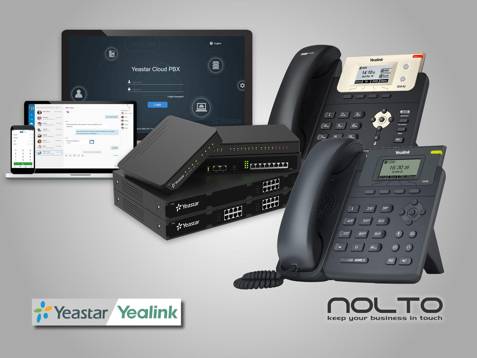 Yeastar Ip Santral ve Yealink IP Telefonlar