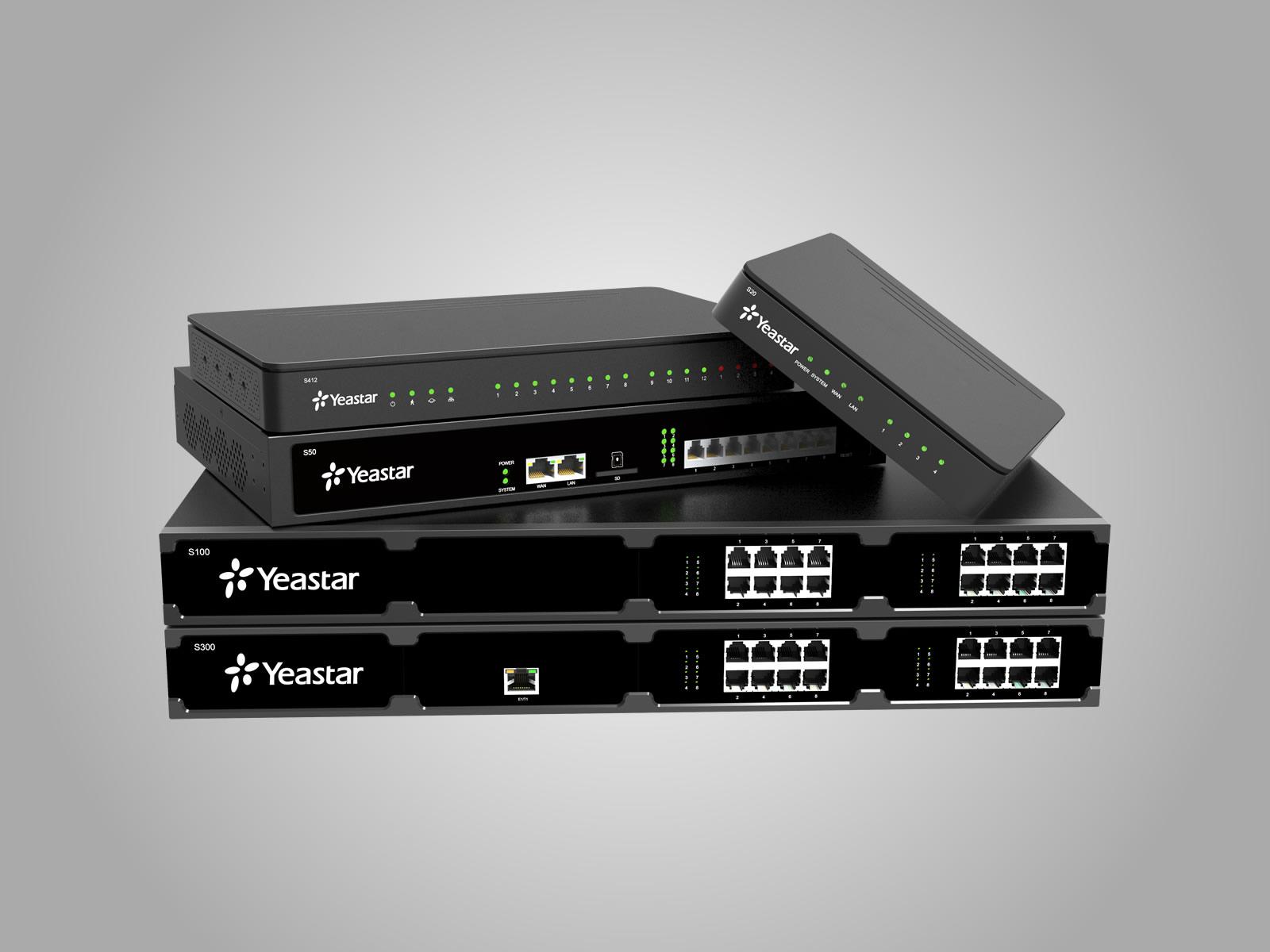 Yeastar S-Serisi Telefon Santral Modelleri