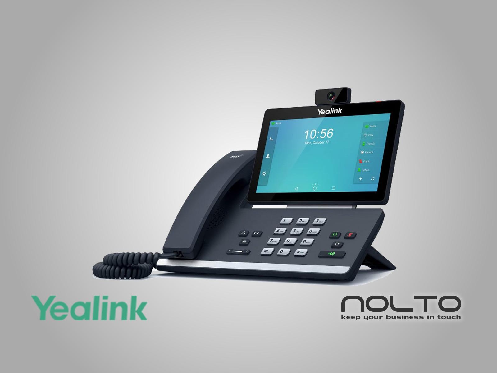Yealink T58A Kameralı IP Telefon