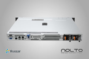 Yeastar K2 VoIP PBX IP Santral Dual Power Supply