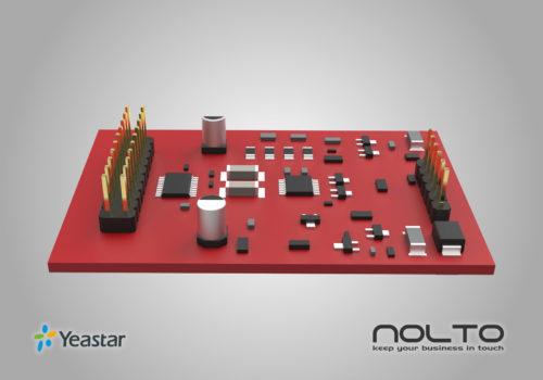 Yeastar O2 2 FXO Modül