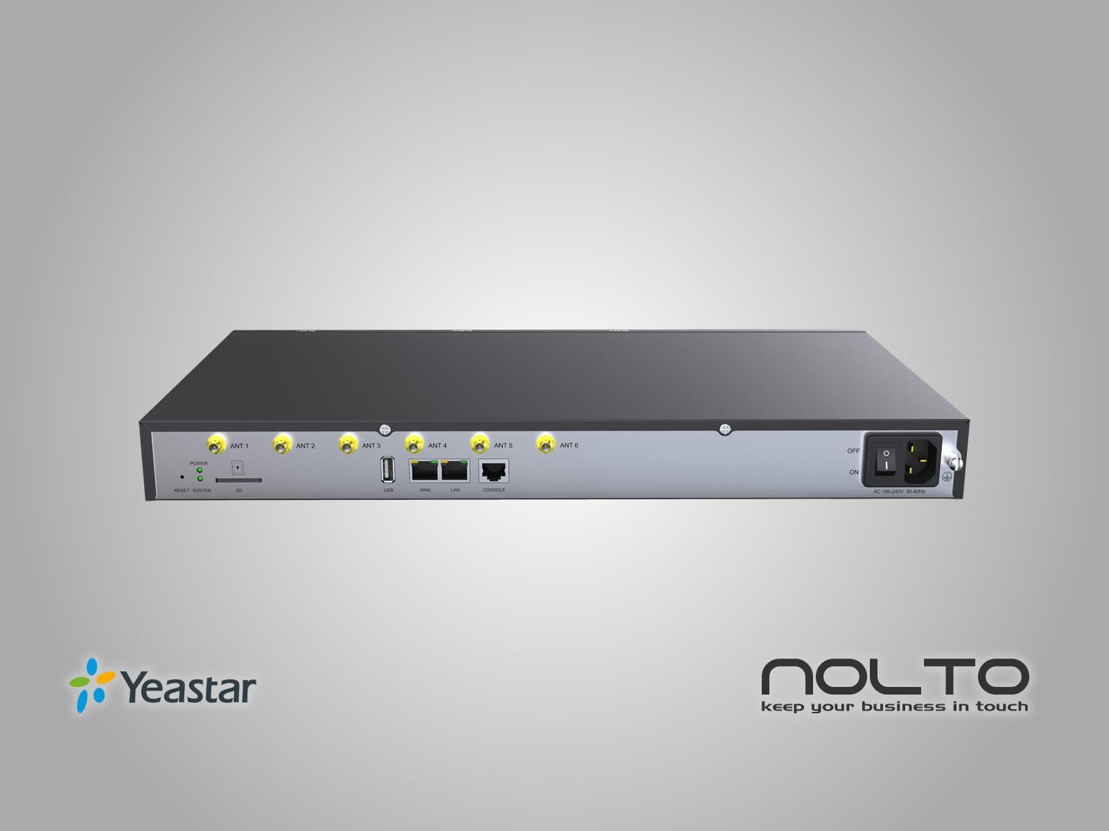Yeastar S100 Arka USB ve Ethernet Portları