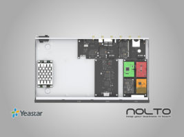 Yeastar S100 Modüler Tasarımı