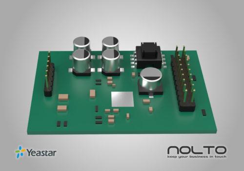 Yeastar S2 2 FXS Modül