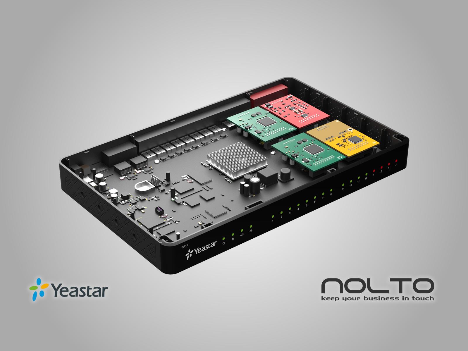 Yeastar S412 VoIP PBX IP Santral