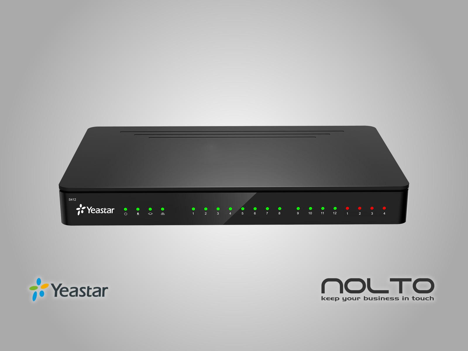 Hibrit IP Telefon Santral sistemi S412