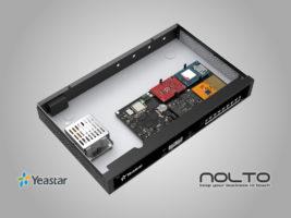 Yeastar S50 Telefon Santrali Modüler Tasarım Iç Görünüş