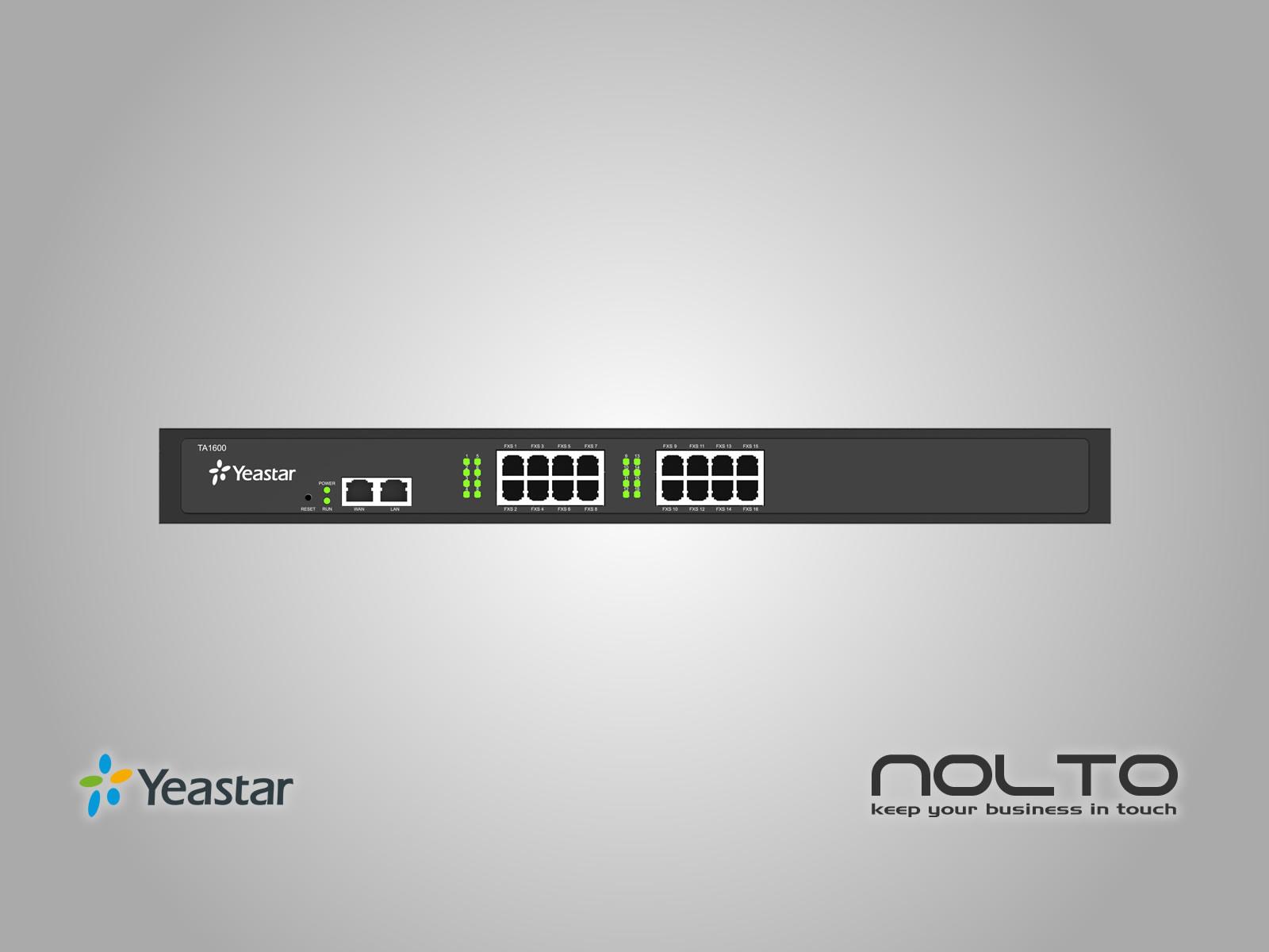 Yeastar TA1600 FXS VoIP Gateway