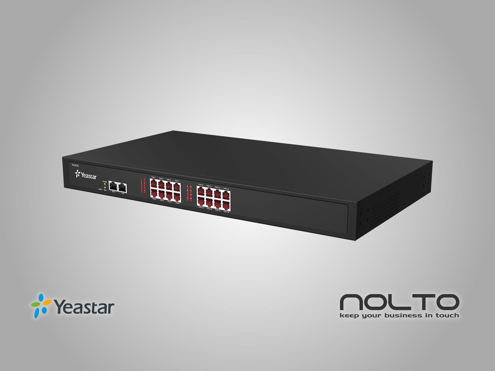 Yeastar TA1610 FXO VoIP Gateway