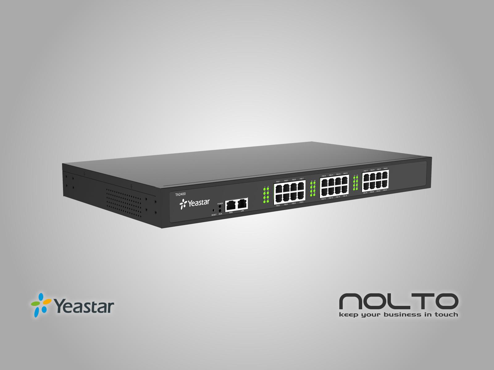 Yeastar TA2400 FXS VoIP Gateway