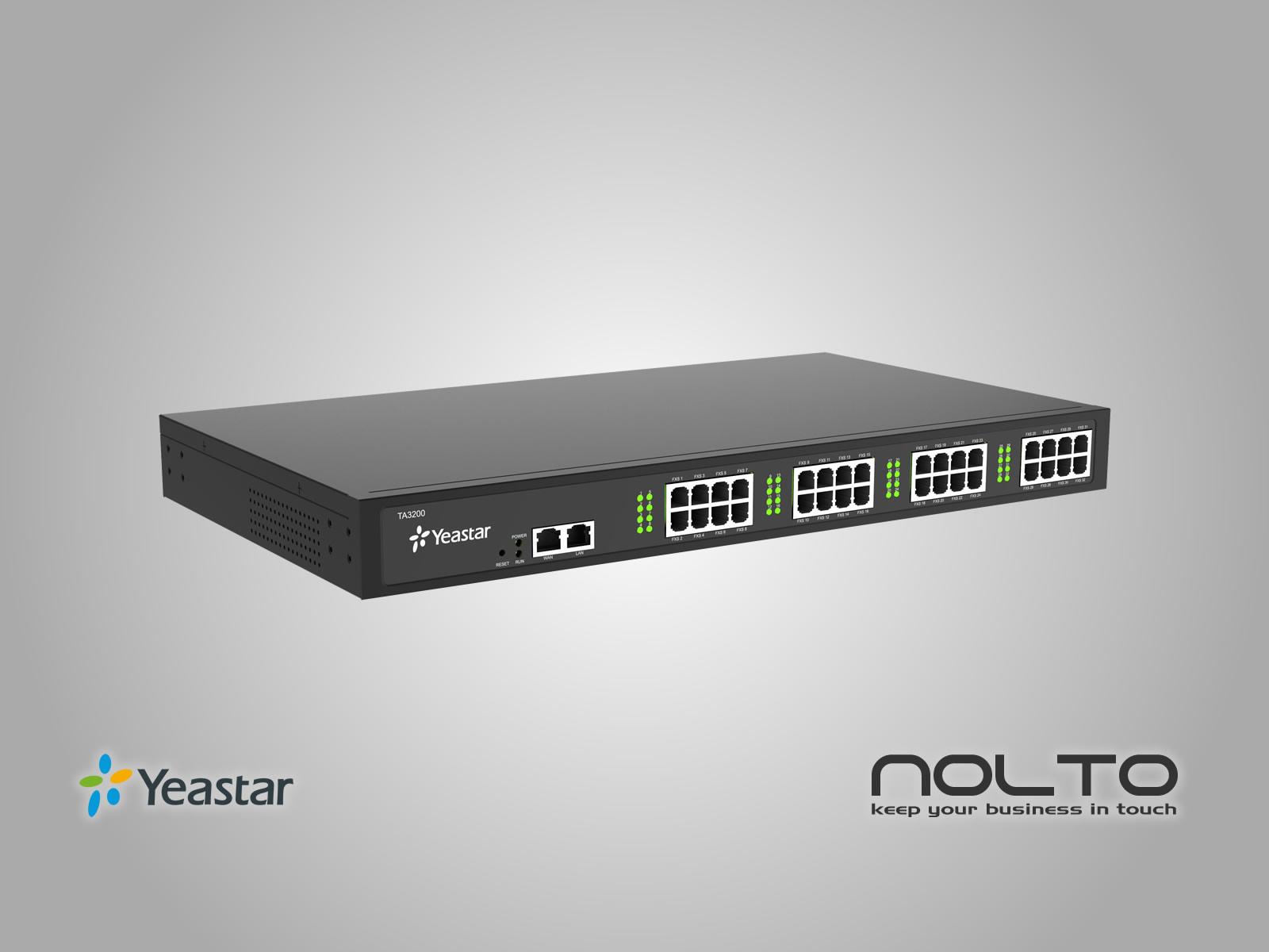 Yeastar TA3200 FXS VoIP Gateway