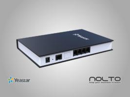 Yeastar TA400 4 Port FXS Analog VoIP Gateway Arka