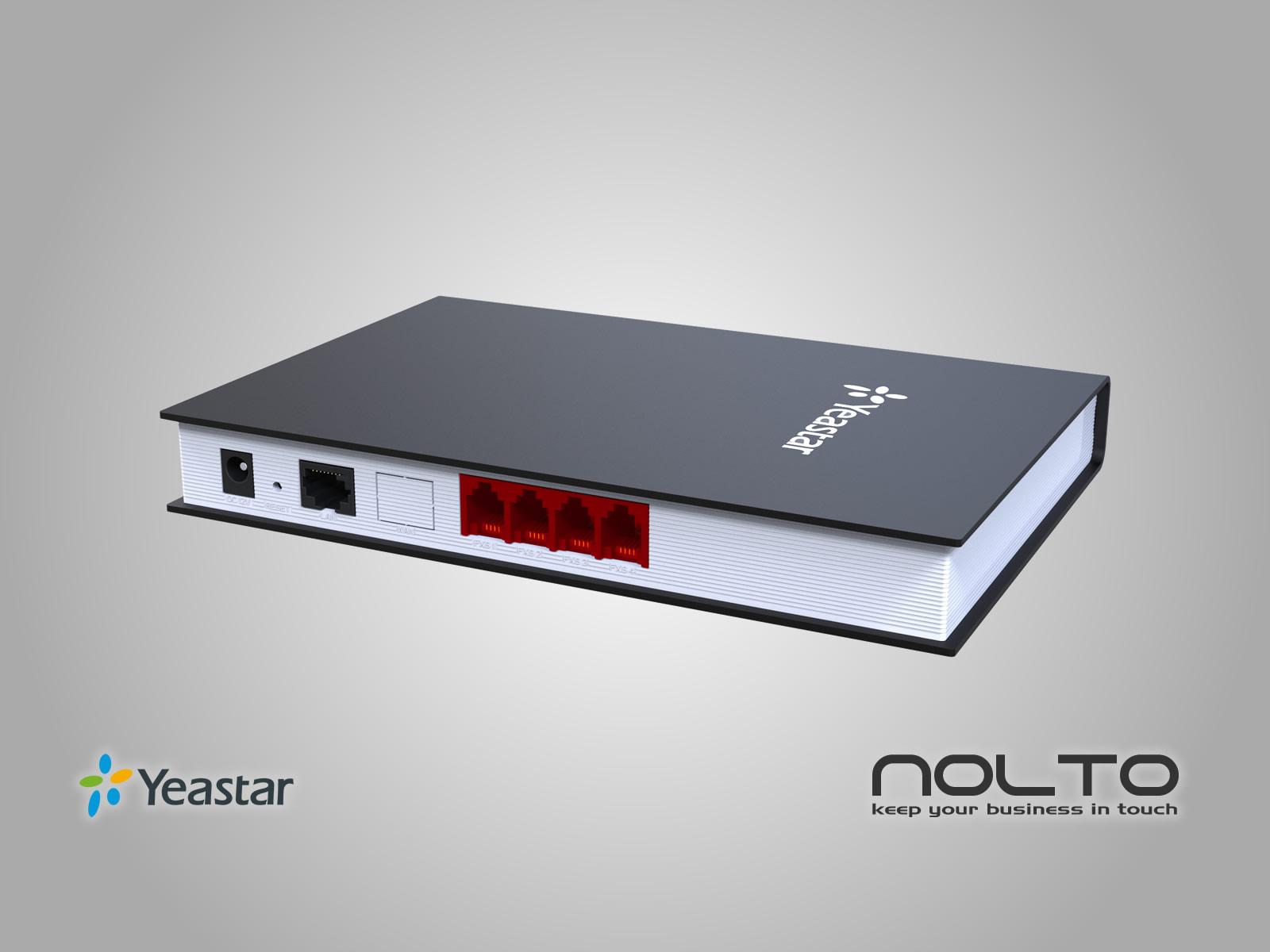Yeastar TA410 FXO GW Arka