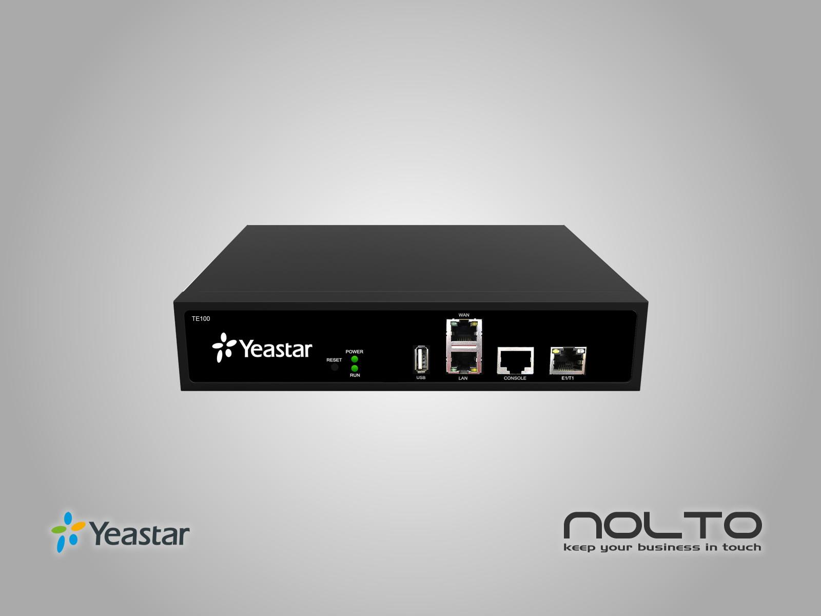 Yeastar TE100 E1/T1 PRI VoIP Gateway