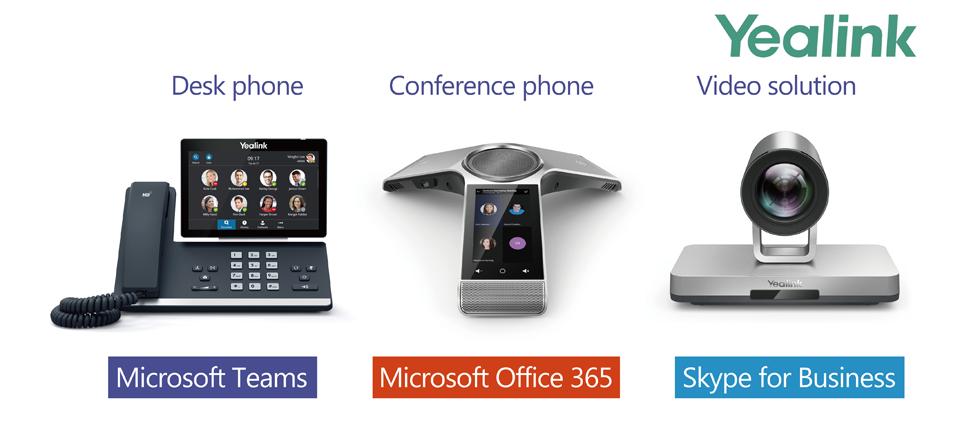 Yealink Microsoft Team Uyumlu Ses ve Görüntü Ürünleri