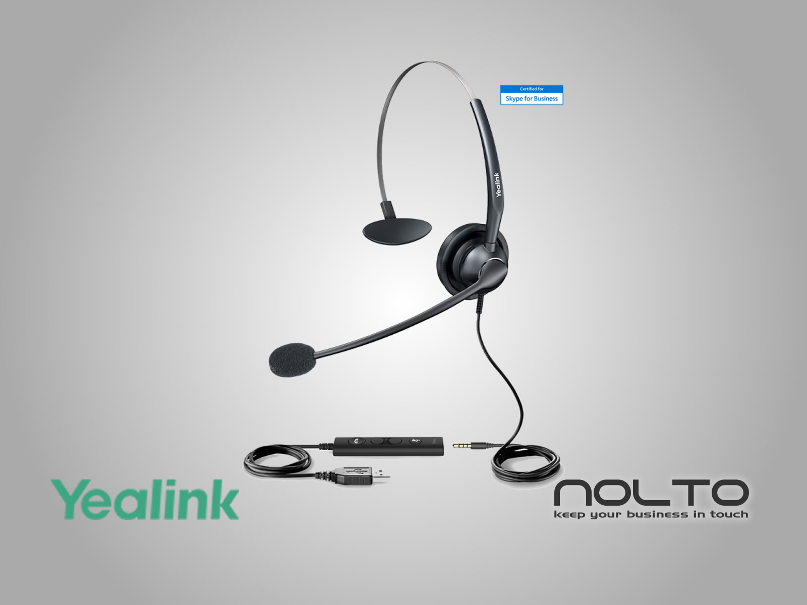 Yealink UH33 Çağrı Merkezi Kulaklığı