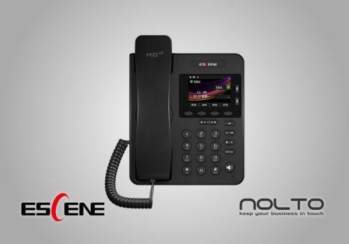 Escene ES270-PC POE Renkli Ekran Şık Masa Telefonu