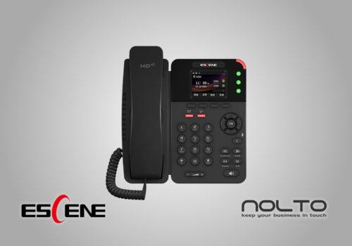 Escene ES282-PC POE Renkli Ekran IP Telefon