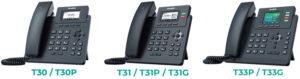 Yealink T3 IP Telefon Modelleri