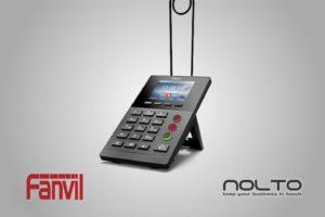 Fanvil X2P Çağrı Merkezi Telefonu