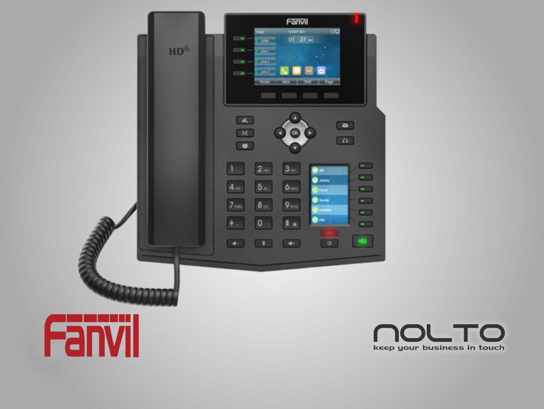 Fanvil X5U Ust Duzey Profesyonel VoIP Masa Telefonu
