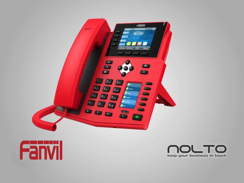 fanvil-x5u-r-kirmizi-ip-telefon