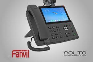 Fanvil X7A Kameralı Android IP Masa Telefonu