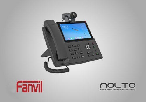 Fanvil X7IP Kameralı Android VoIP Masa Telefonu