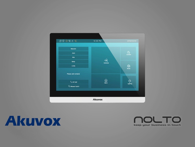 Akuvox-c317-interkom-ekran