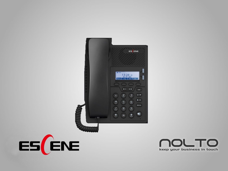 Escene ES205-P Ekonomik IP Telefon