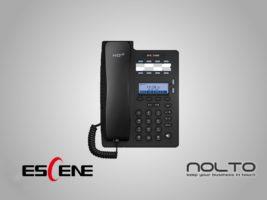 Escene ES206-P Ekonomik IP Telefon