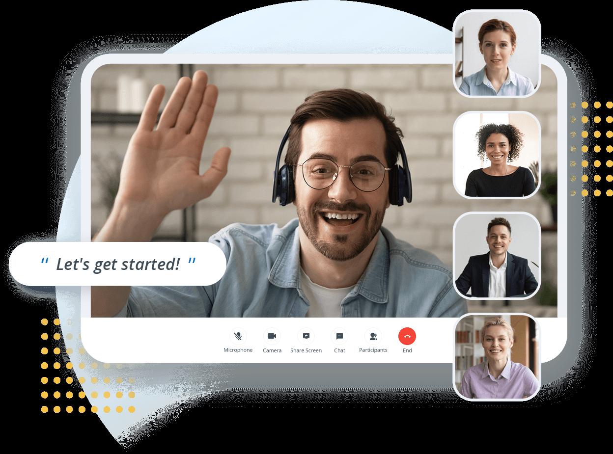Yeastar Video Konferans Çözümü Arkaplanı