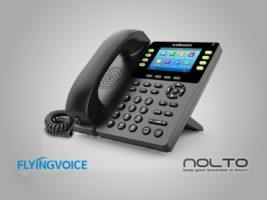 FlyingVoice FIB14G Renkli Ekran Wİ-Fİ IP Telefon