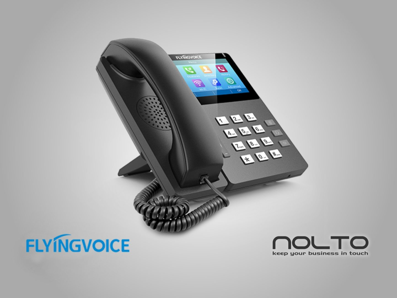 Flyingvoice FIB15G Dokunmatik IP Telefon (3)