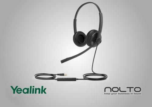 Yealink UH34 Çift Taraflı Mikrofonlu Profesyonel Çağrı Merkezi Kulaklığı