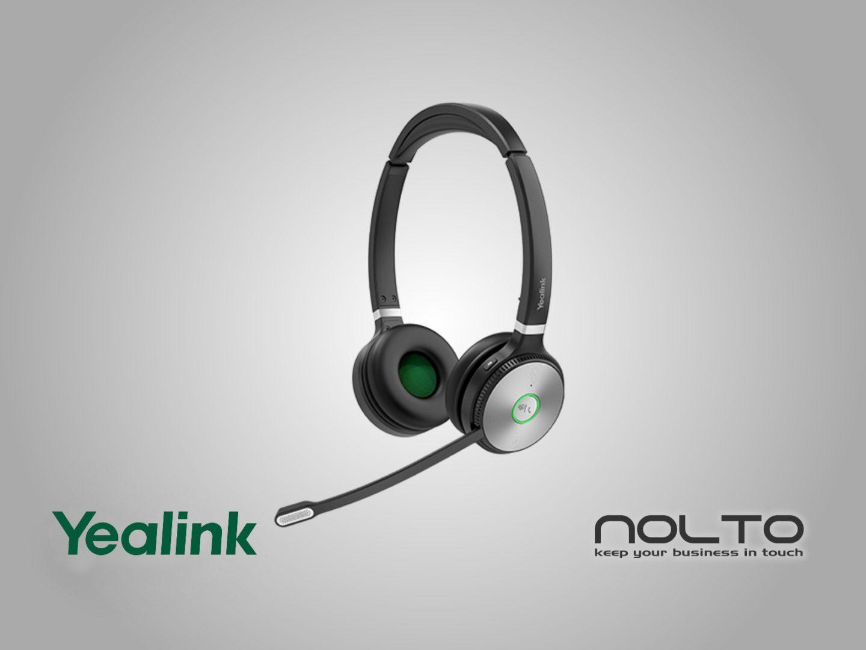 Yealink WH62 DECT Mikrofonlu Kablosuz Kulaklık