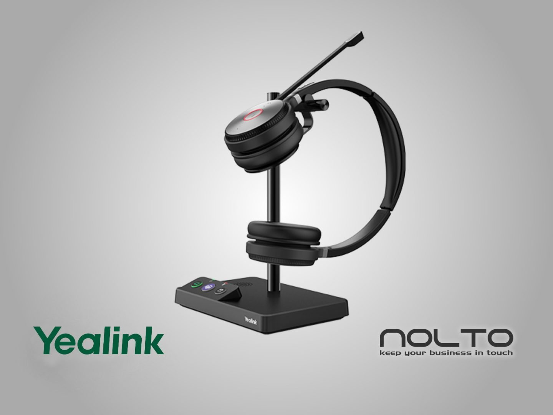 Yealink WH62 DECT Kablosuz Çift Taraflı Mikrofonlu Kulaklık