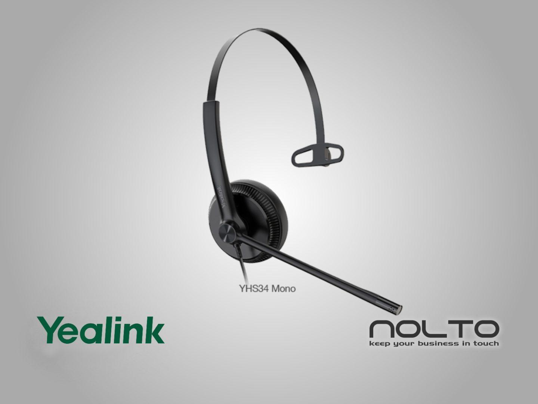 yealink-YHS34 Lite mono mikrofonlu kulaklık