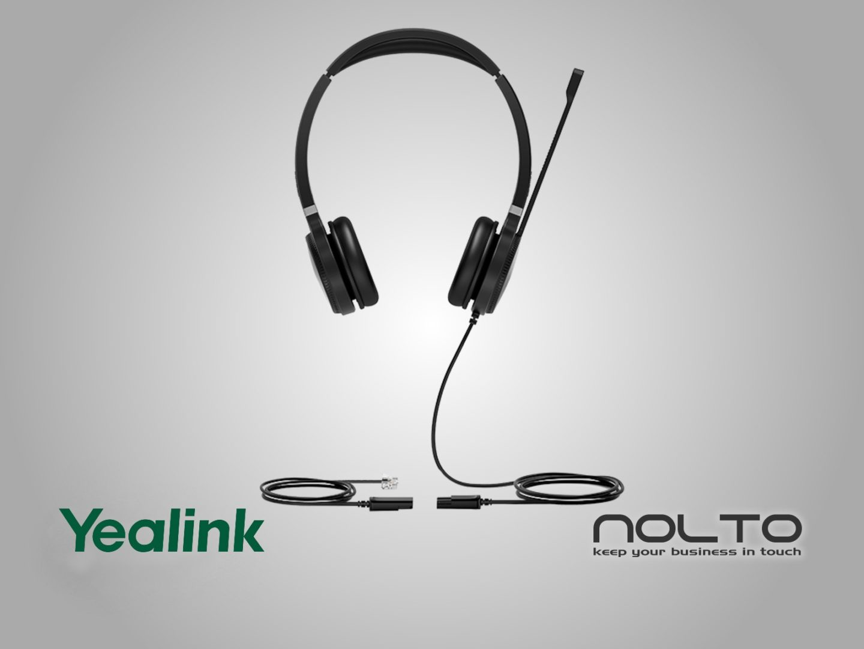 yealink-YHS36 Mikrofonlu Stereo Kulaklık
