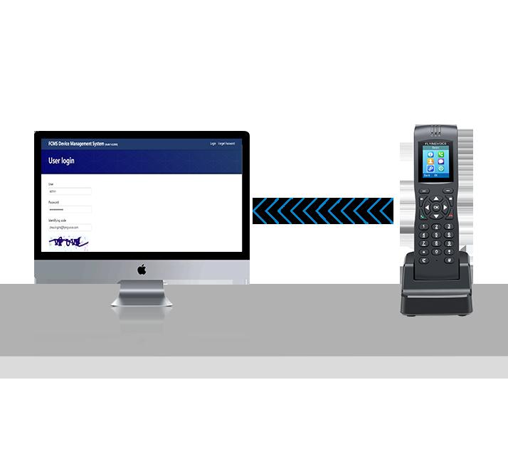 Wi-fi Kablosuz SIP IP Telefon