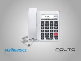 FlyingVoice FIP12WP Yaşlılara Özel Kolay Kullanım Wi-fi Masa Telefonu