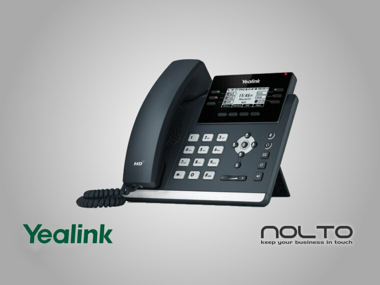 Yealink T42U IP Telefon POE VoIP SIP Masa Telefonu