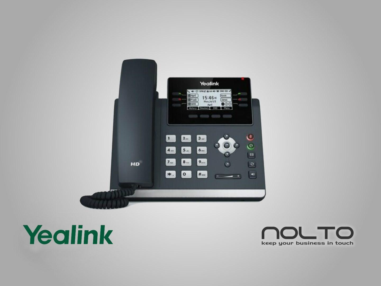 Yealink T42U IP Telefon POE VoIP SIP