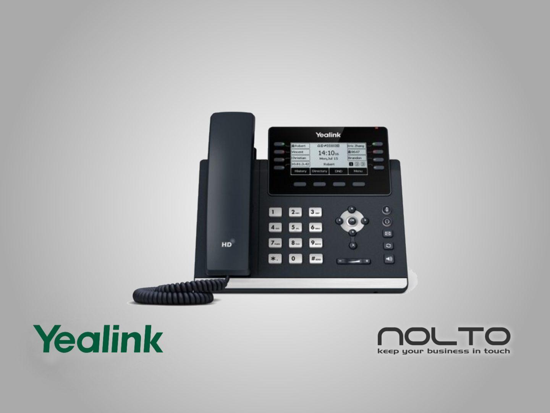 Yealink T43U IP Telefon PoE Destekli - Adaptörsüz