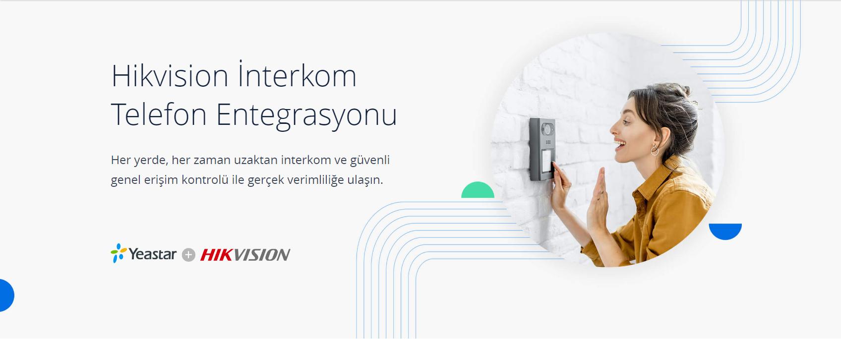 Hikvision Yeastar IP interkom