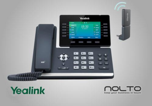 Yealink-T54W-DD10K IP Dect Profesyonel Masa Telefonu