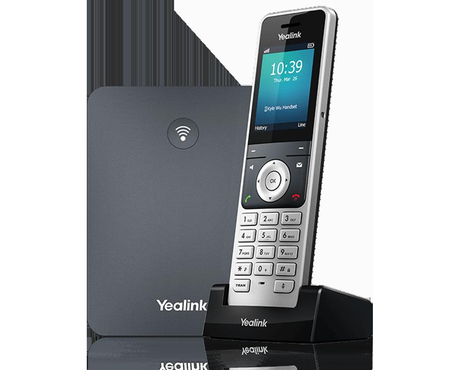 Yealink W76P VoIP DECT Telsiz Telefon Sistemi