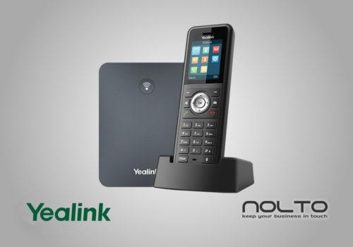 Yealink W79P Profesyonel Sağlamlaştırılmış DECT IP Telefon