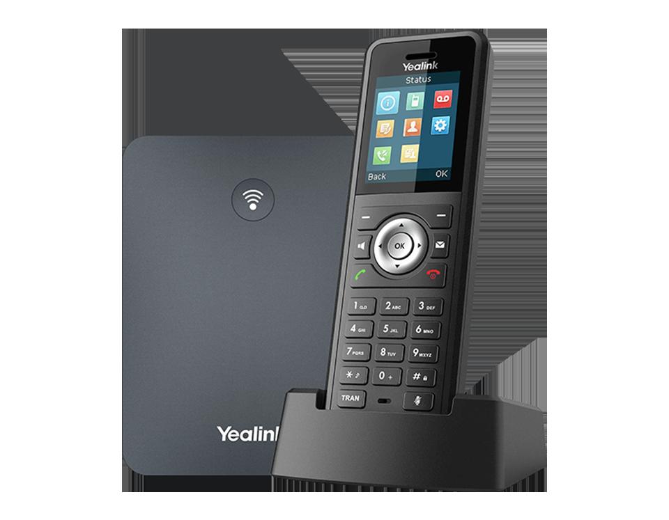 Yealink W79P Profesyonel Sağlamlaştırılmış DECT IP Telefon Banner